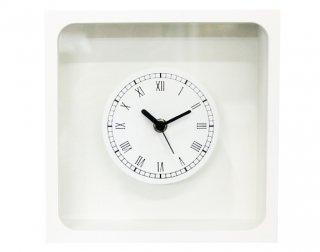 618801<br />花時計白正方形