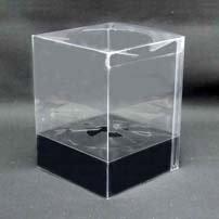 プリザーブドフラワーケース(小)台紙黒