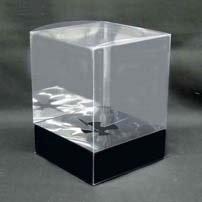 プリザーブドフラワーケース(大)台紙黒