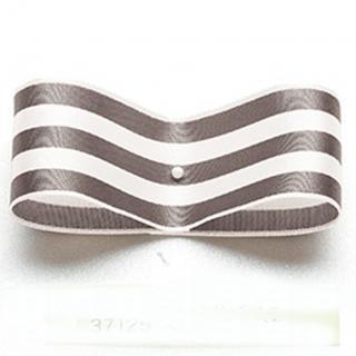 東京リボン<br>37125−8<br />SUシュガーストライプ <br />30mm
