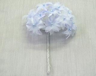 R 小花 ブルー