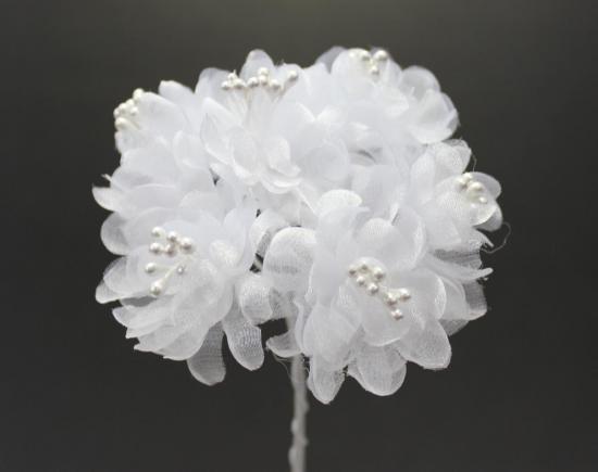 10488 小花 ホワイト