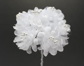 10488 <br />小花 ホワイト