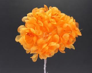 10488小花 オレンジ