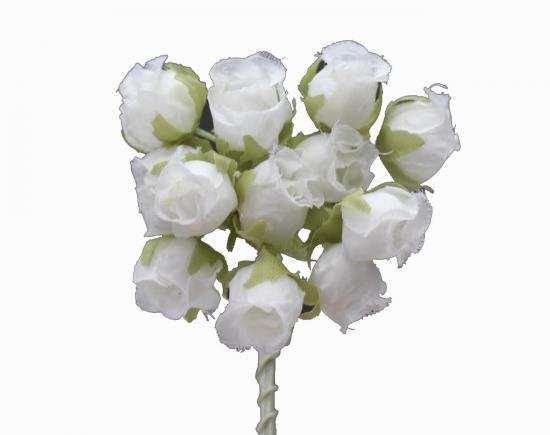 HN10862 小花 ホワイト