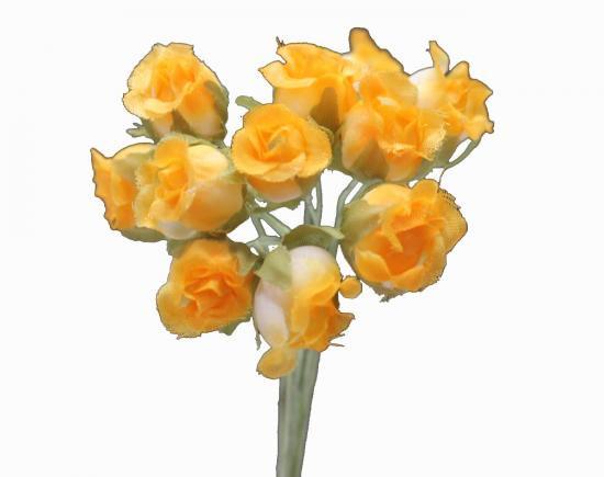 HN10862 小花 オレンジ