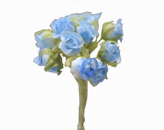 HN10862 小花 ブルー