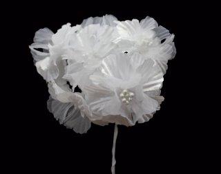 10031 小花 ホワイト