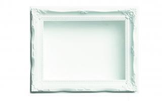 ミレニアムアート<br>ML818−01 <br />ルネッサンスフレーム <br />Mサイズ ホワイト
