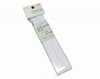 金天馬 パジャマゴム<br />15�巾(白)2m巻