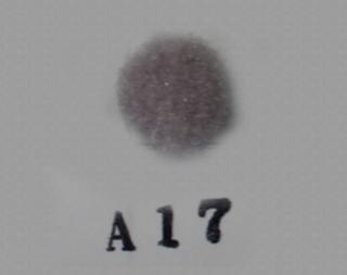 ポリエステル凡天 8mm (国内染) A17<br/>ボン天、ぼん天