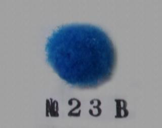 ポリエステル凡天 10mm No23B(青色)<br/>ボン天、ぼん天