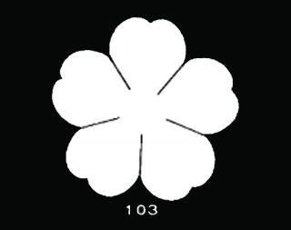 TM103<br />のばら 大 サテン【ネコポス可】
