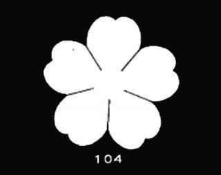 TM104<br />のばら 中 サテン【ネコポス可】