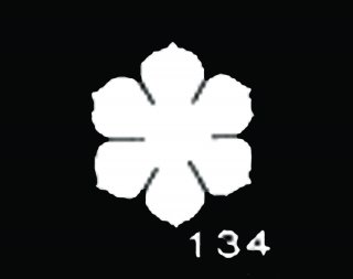 TM134<br />すずらん 大 サテン