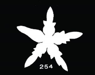 TM254 花がく No4<br />ばらがく 中 サテン