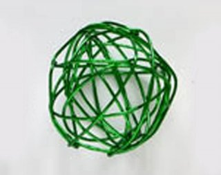AWB01−02  <br />ワイヤーボール グリーン