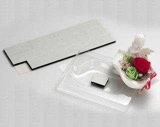ML601<br />クッション両面テープ<br />(超強力タイプ)<br />3cm角 5mm厚