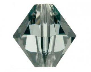 5328(5301)<br />スワロフスキー ソロバン型<br />3mm ブラックダイヤ【ネコポス可】