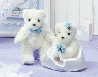 天使のホワイトベア ブルー