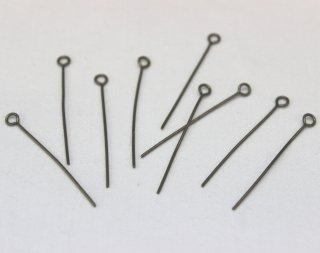 9ピン 0.7×30mm (10g/約76本入) 真鍮古美【ネコポス可】
