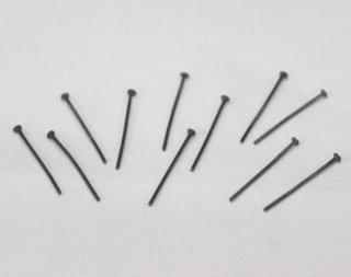Tピン 0.7×20mm (10g/約133本入) ブラック【ネコポス可】
