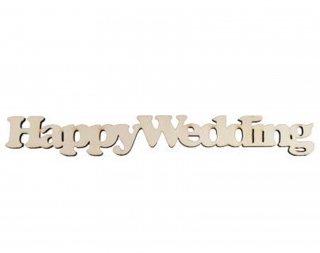 GG1500-2051  切り文字 Happy Wedding