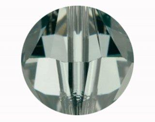 5000 スワロフスキー ラウンド型 4mm ブラックダイヤ【ネコポス可】