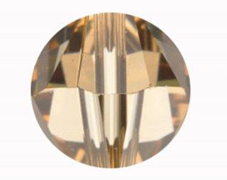 5000 スワロフスキー ラウンド型 8mm ライトコロラドトパーズ【ネコポス可】