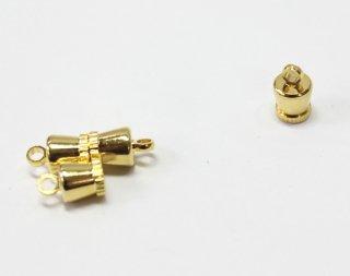 マグネットクラスプ (2ヶ入) ゴールド【ネコポス可】