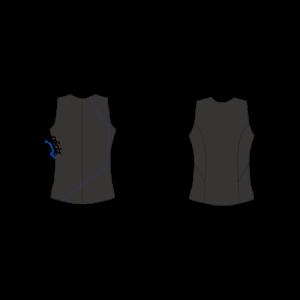 <img class='new_mark_img1' src='https://img.shop-pro.jp/img/new/icons5.gif' style='border:none;display:inline;margin:0px;padding:0px;width:auto;' />北斗の拳公式コラボレーション企画/タッパー/ノースリーブ袖無しジャケット/ケンシロウモデル/ウェットスーツ