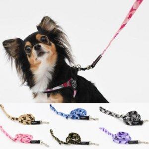 犬 リード 小型犬用 トレ・ポンティ ECONOMIC LEASH CAMOUFLAGE(エコノミックリーシュカモフラージュ)