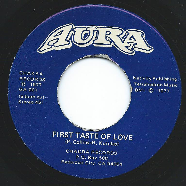 AURA / FIRST TASTE OF LOVE / IT'S A FEELING (7