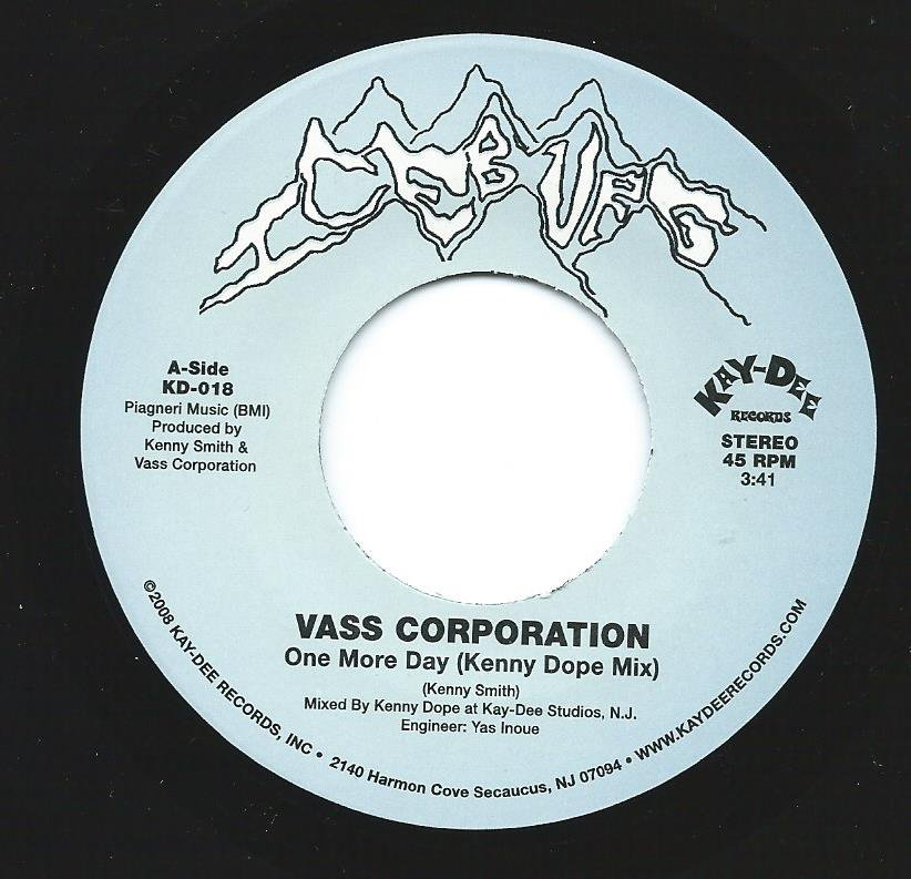 VASS CORPORATION / ONE MORE DAY / ALL THE LOVE WE LOST (KENNY DOPE MIX) (7