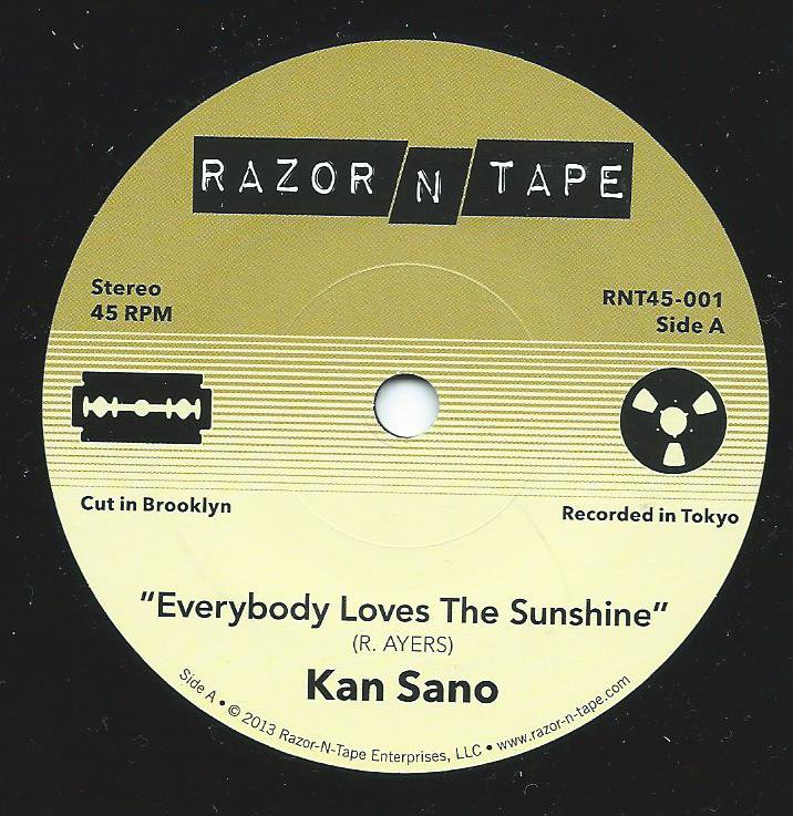 KAN SANO / EVERYBODY LOVES THE SUNSHINE / MUSIC OVERFLOW (7