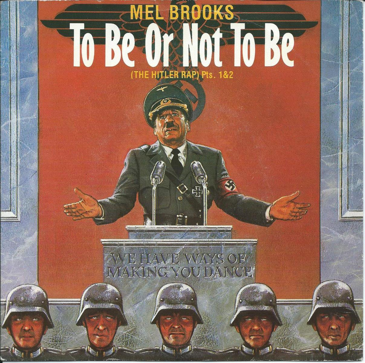 MEL BROOKS / TO BE OR NOT TO BE (THE HITLER RAP) (7