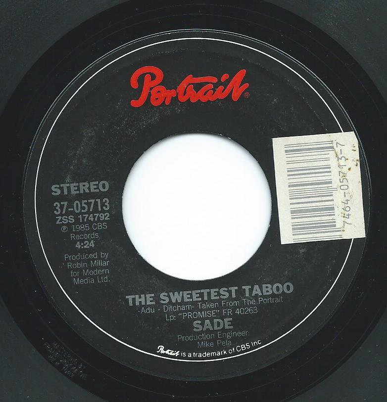 SADE / THE SWEETEST TABOO / YOU'RE NOT THE MAN (7