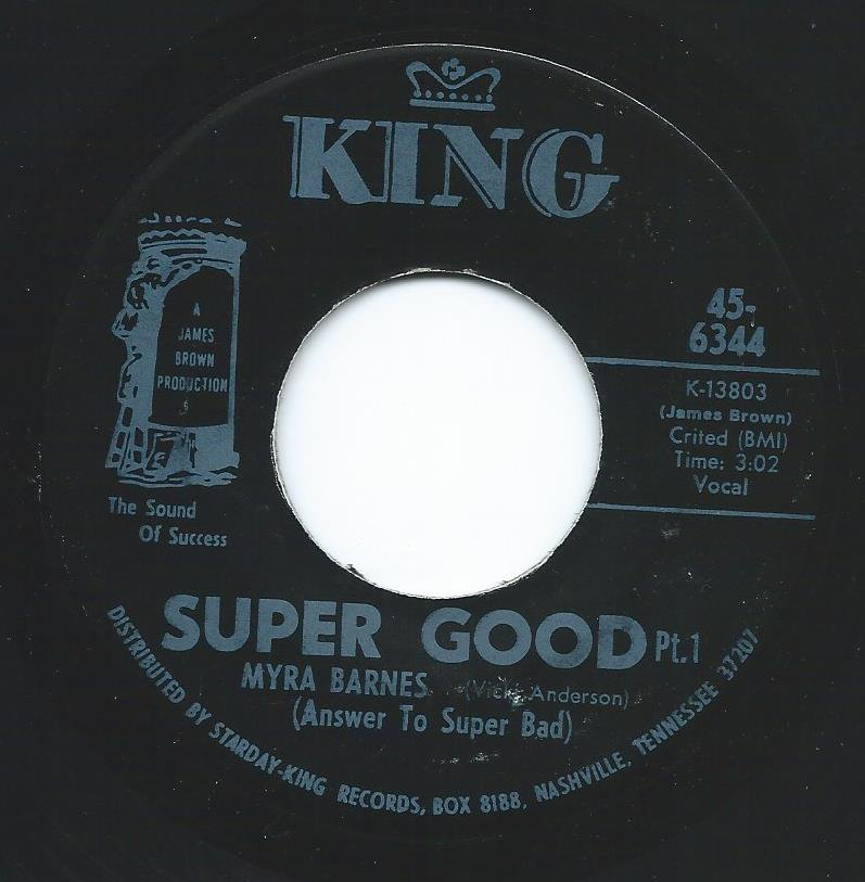 MYRA BARNES / SUPER GOOD (7