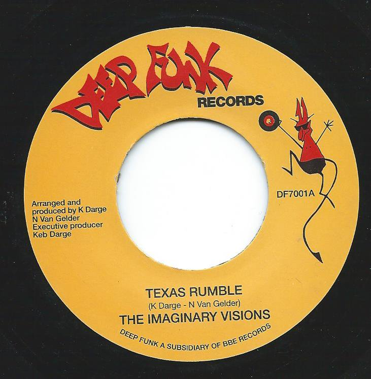 THE IMAGINARY VISIONS / TEXAS RUMBLE / THE HOUSTON HOOK (7