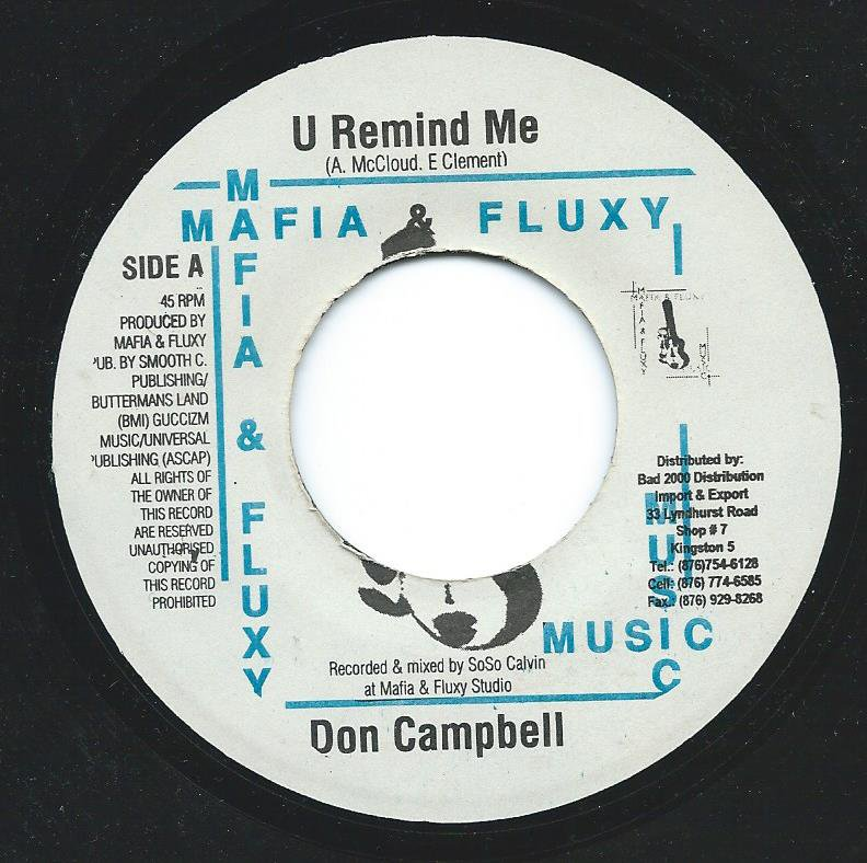 DON CAMPBELL / U REMIND ME (7