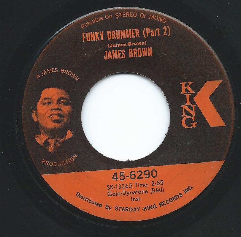 JAMES BROWN / FUNKY DRUMMER (7