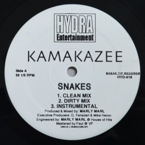 KAMAKAZEE / SNAKES / SPREAD IT (REMIX) (12