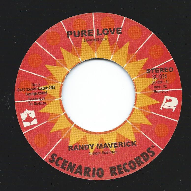 RANDY MAVERICK / PURE LOVE (PROD BY THE NEXTMEN) (7