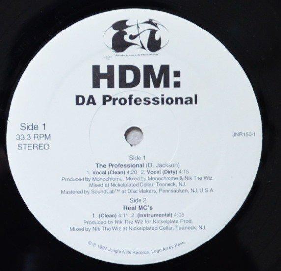 HDM / DA PROFESSIONAL / REAL MC'S (12