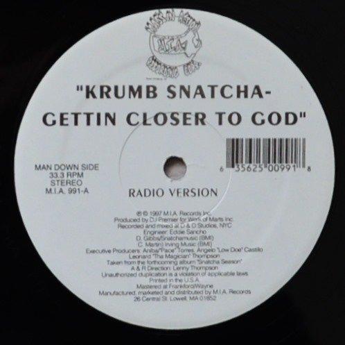 KRUMB SNATCHA / GETTIN CLOSER TO GOD (PROD BY DJ PREMIER) (12