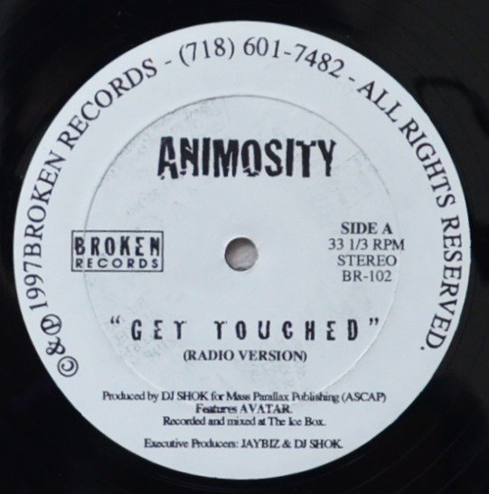 ANIMOSITY / GET TOUCHED (12