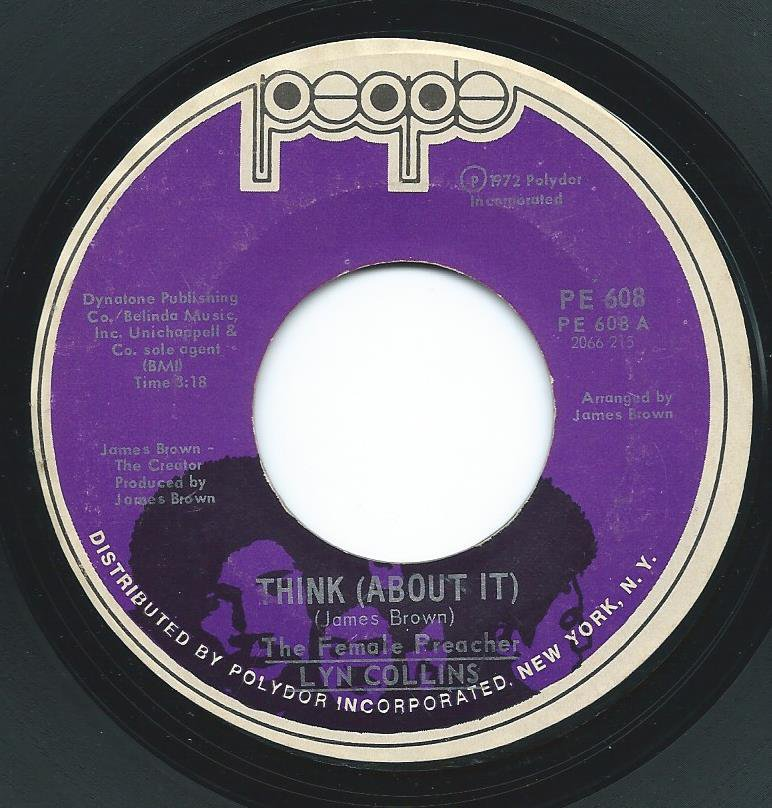 LYN COLLINS / THINK (ABOUT IT) / AIN'T NO SUNSHINE (7