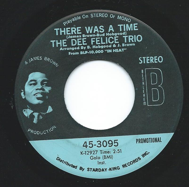 THE DEE FELICE TRIO / THERE WAS A TIME (7