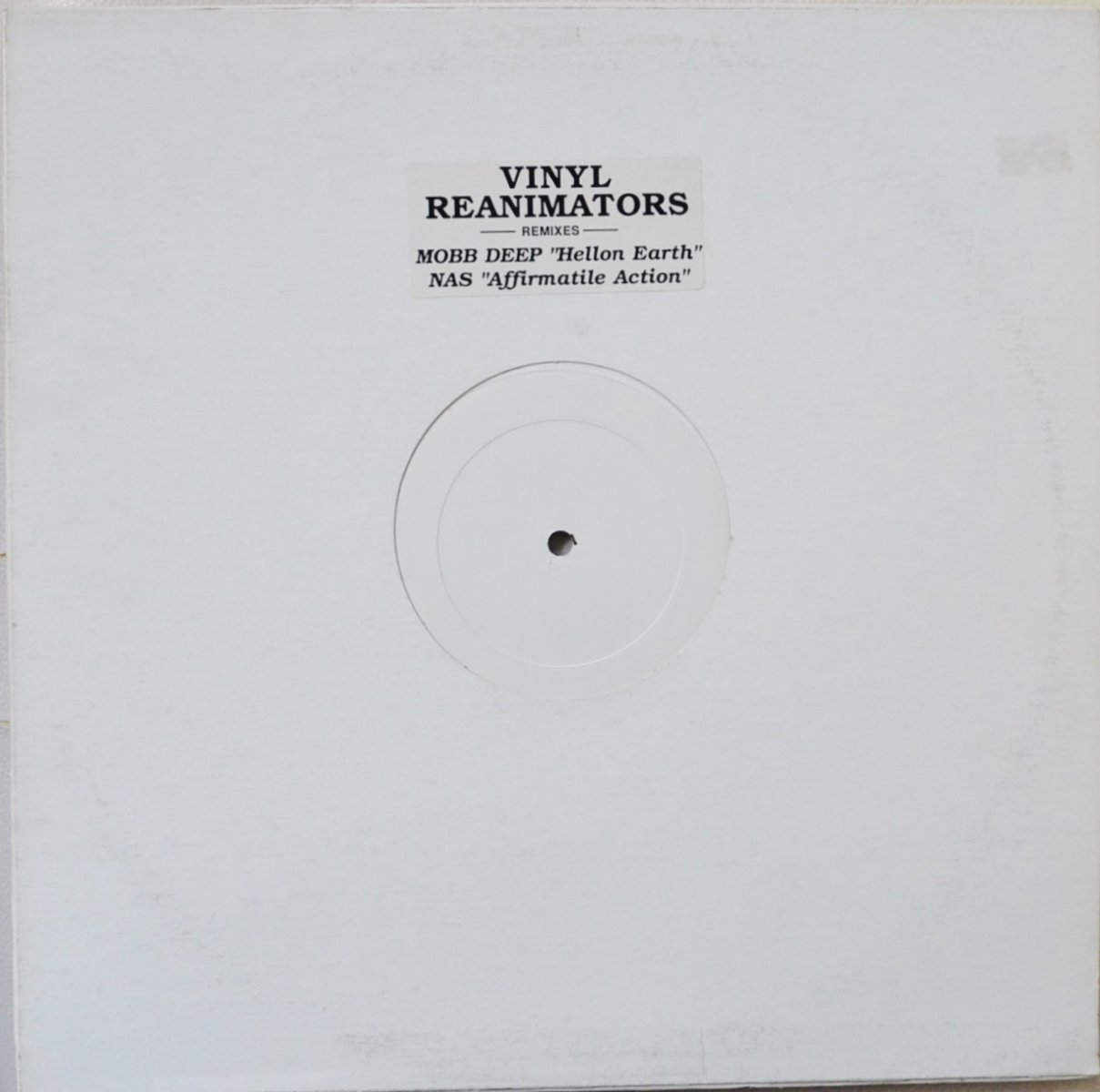 NAS FEAT AZ,FOXY BROWN & CORMEGA / AFFIRMATIVE ACTION-REMIX (VINYL REANIMATORS REMIXES)(12
