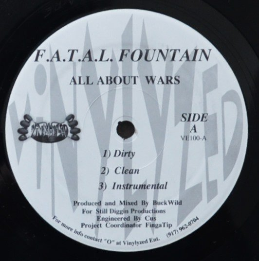 F.A.T.A.L. FOUNTAIN / ALL ABOUT WARS (PROD BY BUCKWILD) / HEAVYWEIGHTS (12